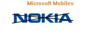 ¡Abucheo!  La división móvil de Nokia ahora se llamará Microsoft Mobiles