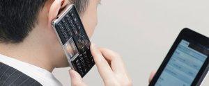 ¡El teclado inalámbrico Bluetooth también te permite hacer llamadas!