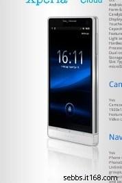 ¿Es esta la imagen oficial del Sony Ericsson Nozomi?