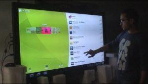 ¿Te gustaría una tableta / TV Android de 65 pulgadas completamente funcional con Honeycomb?