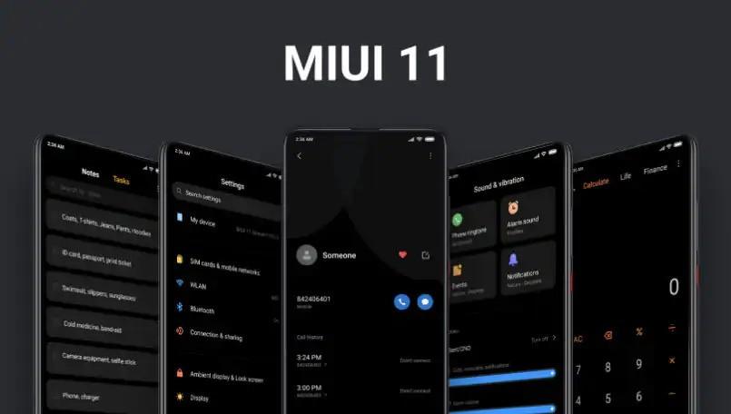 MIUI-11-Modo oscuro