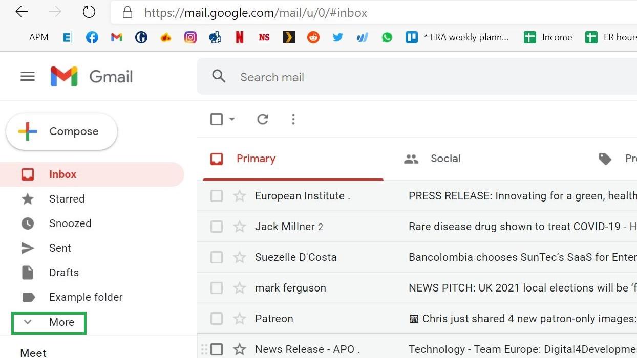 Paso 1: Cómo vaciar la papelera en Gmail