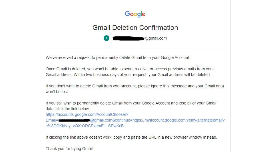 Paso 6: Cómo eliminar su cuenta de Gmail