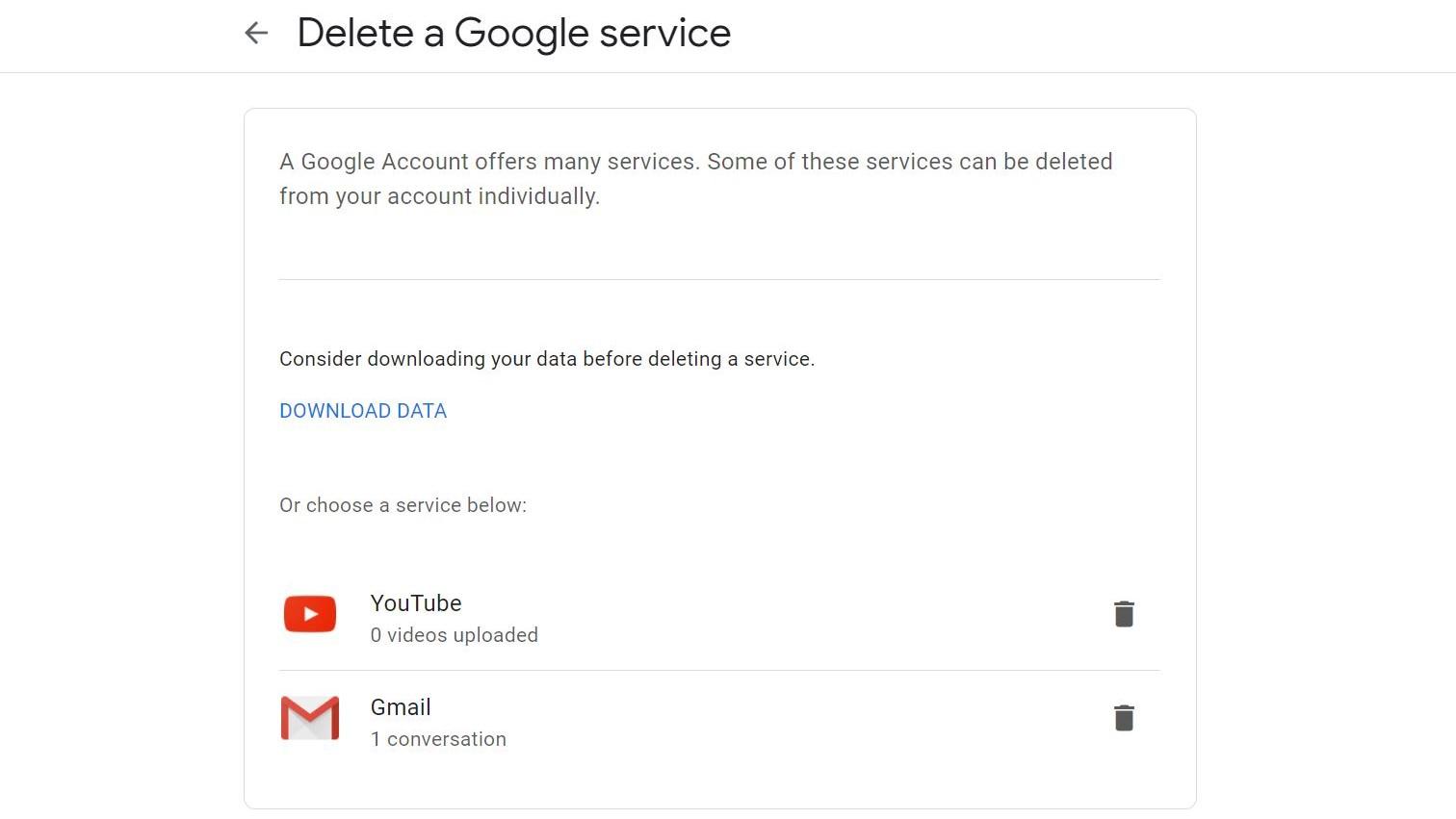 Paso 5. Cómo eliminar su cuenta de Gmail