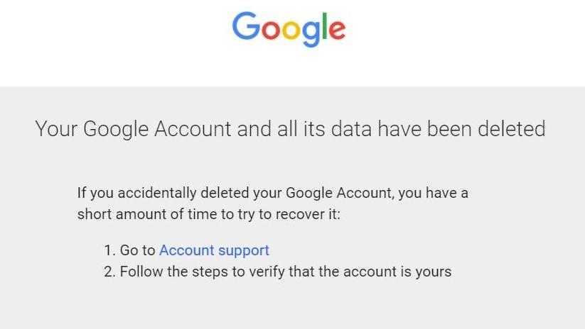 Paso 9: Cómo eliminar su cuenta de Gmail