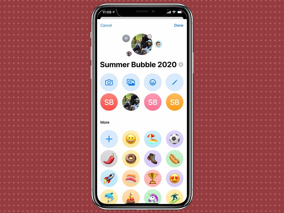 Cómo configurar una foto para un grupo de mensajes en la aplicación Mensajes