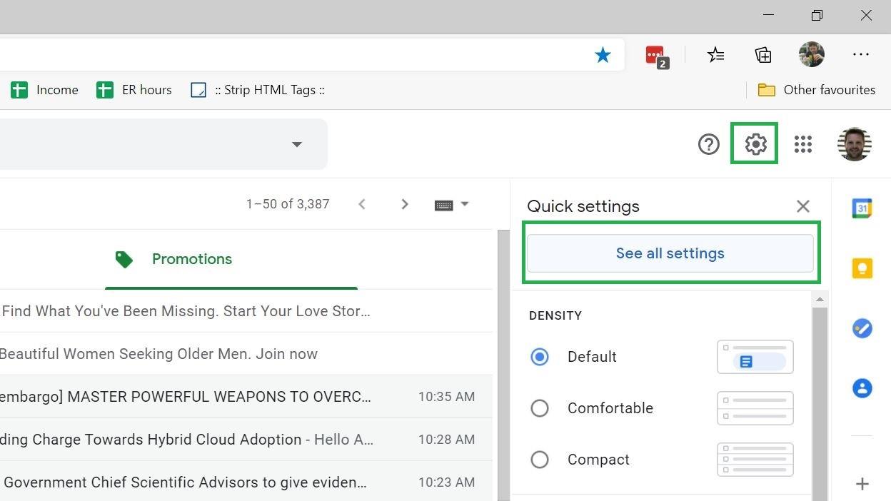 Paso 2: Cómo cambiar el nombre en Gmail