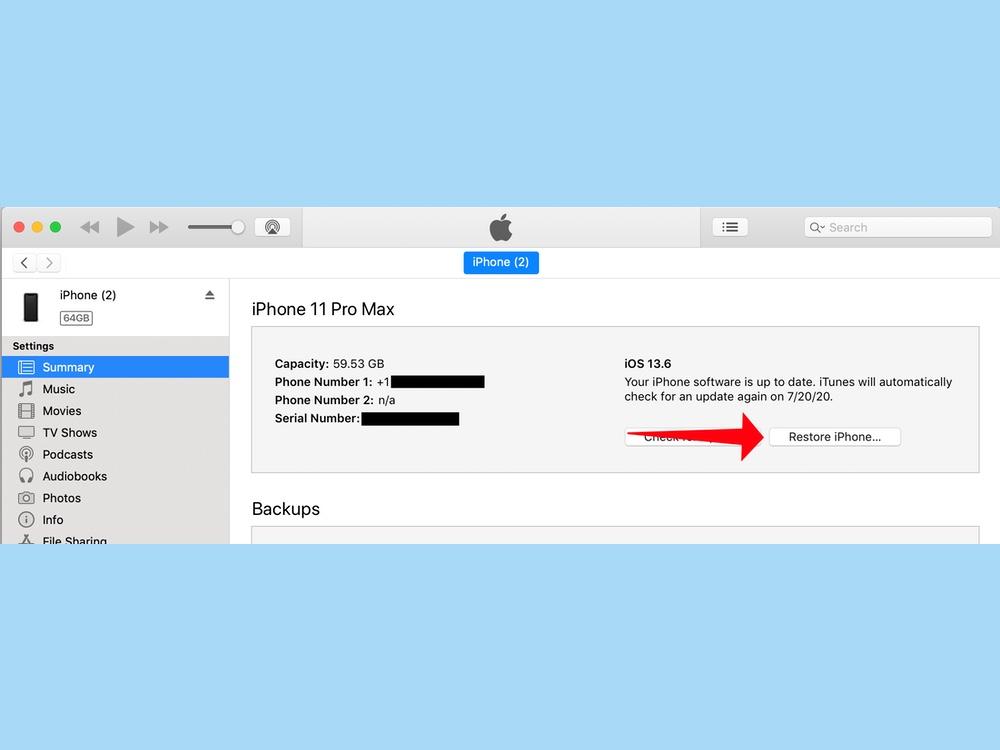cómo reiniciar un iPhone