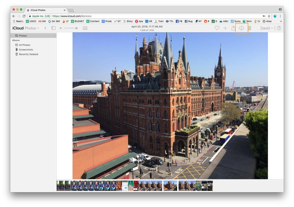 Cómo descargar fotos de iCloud a Mac