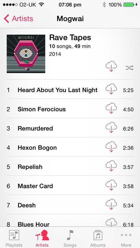 Cómo agregar o eliminar música en iPhone o iPad sin usar iTunes: iTunes en la nube