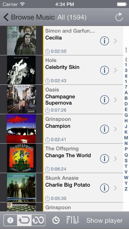 Cómo agregar o eliminar música en iPhone o iPad sin usar iTunes: aplicación StreamToMe