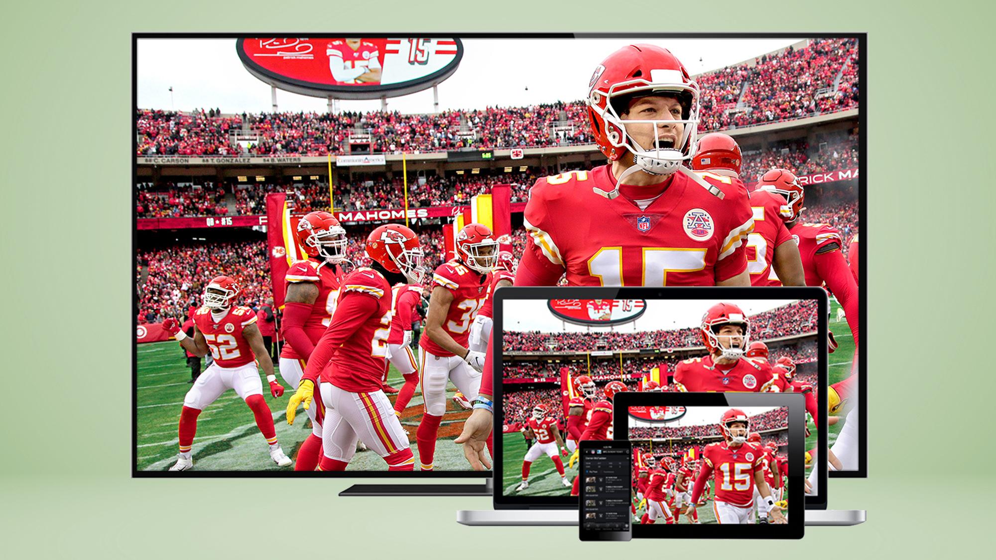 NFL Sunday Ticket admite una tonelada de dispositivos