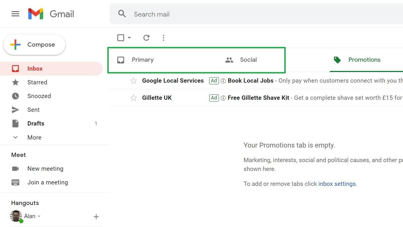 Cómo eliminar todo el correo electrónico en gmail