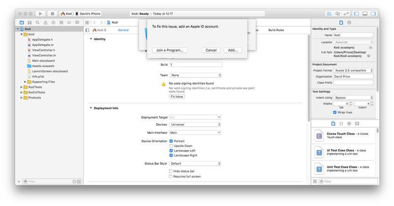Cómo instalar Kodi en un iPhone o iPad sin jailbreak