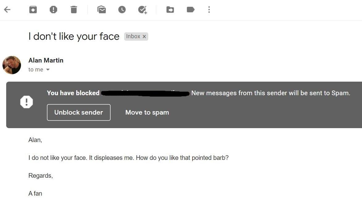 Paso 6: Cómo bloquear correos electrónicos en Gmail