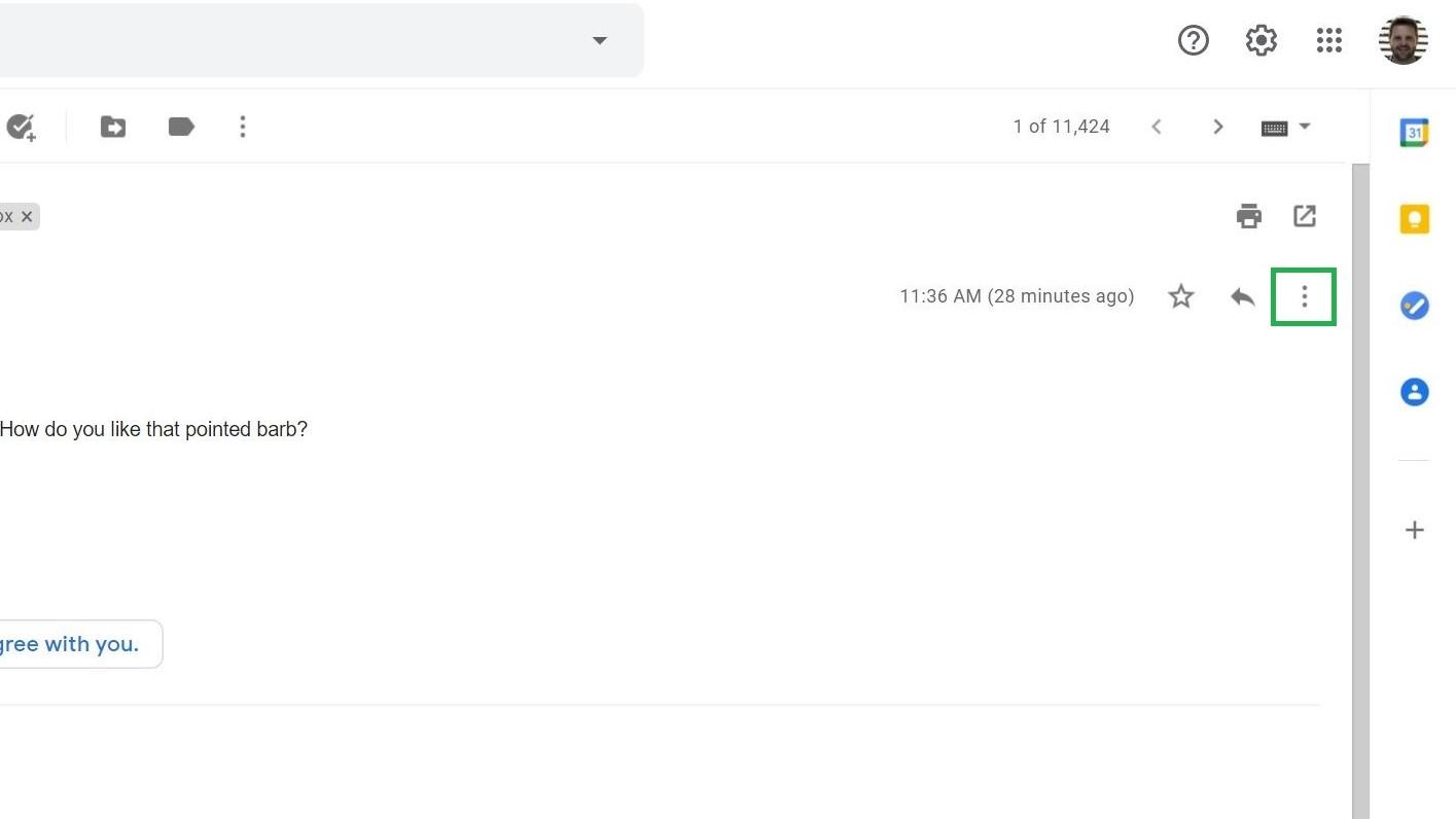Paso 3: Cómo bloquear correos electrónicos en Gmail