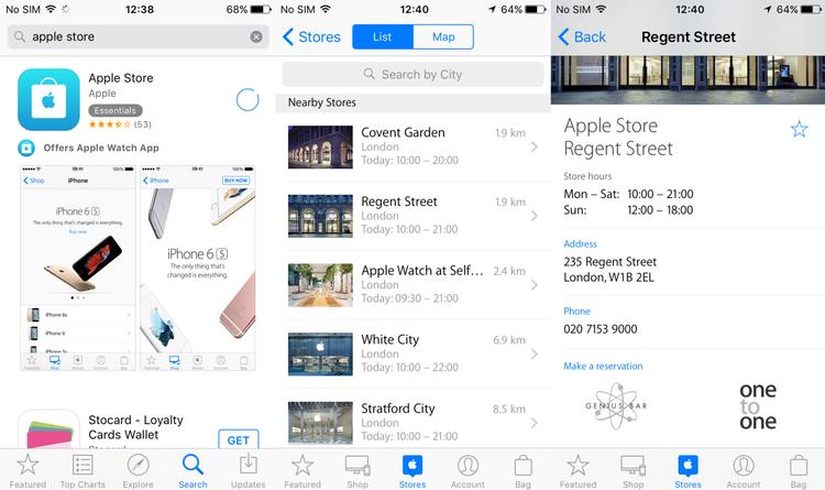 Cómo reservar una cita en el Genius Bar de una Apple Store: uso de la aplicación