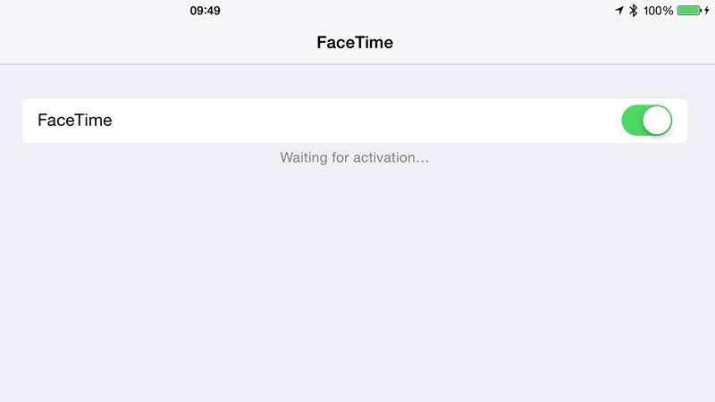 Encienda FaceTime para arreglar FaceTime que no funciona