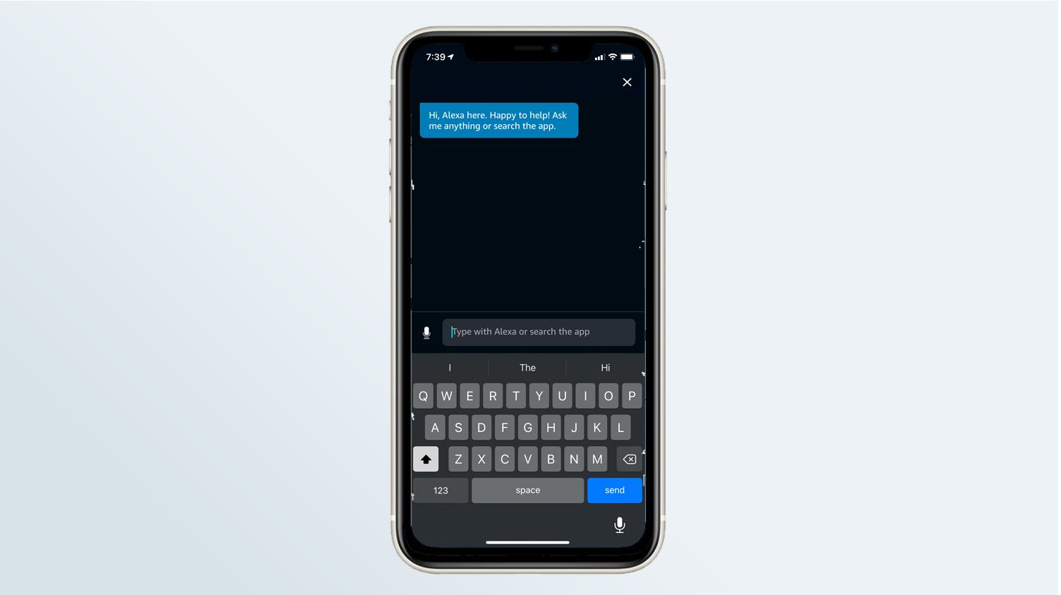Alexa en iPhone