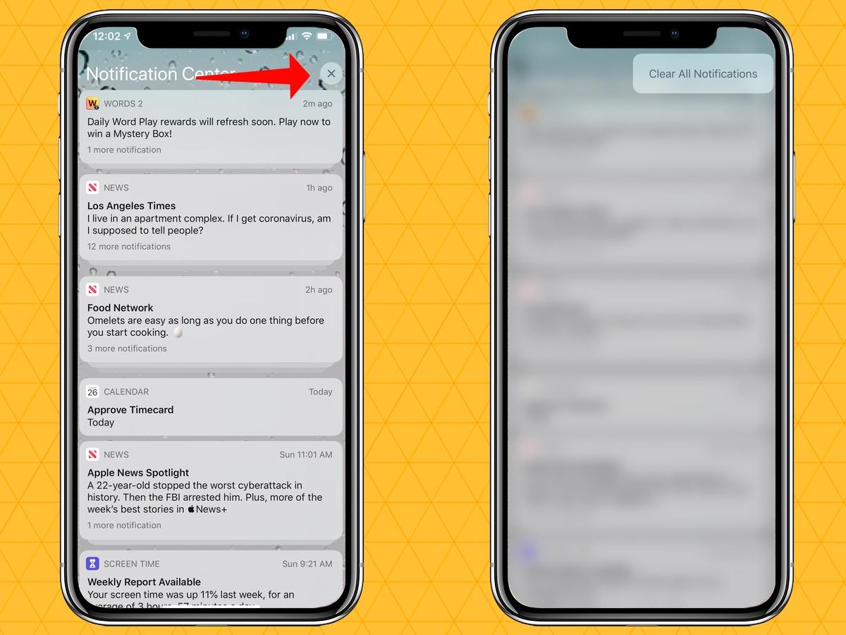 cómo silenciar las notificaciones en tu iphone borrar todo