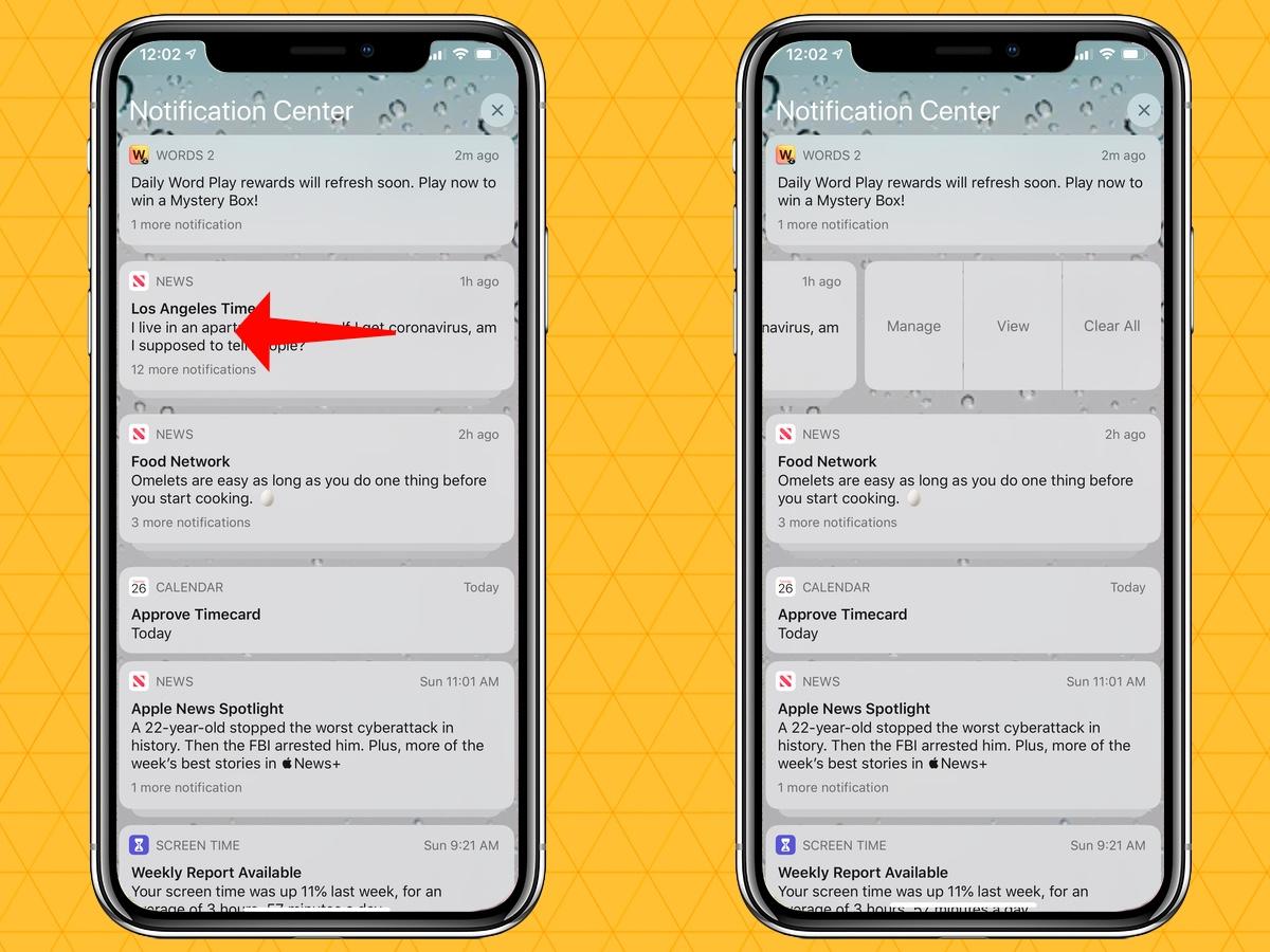 cómo silenciar las notificaciones en el centro de notificaciones de tu iPhone