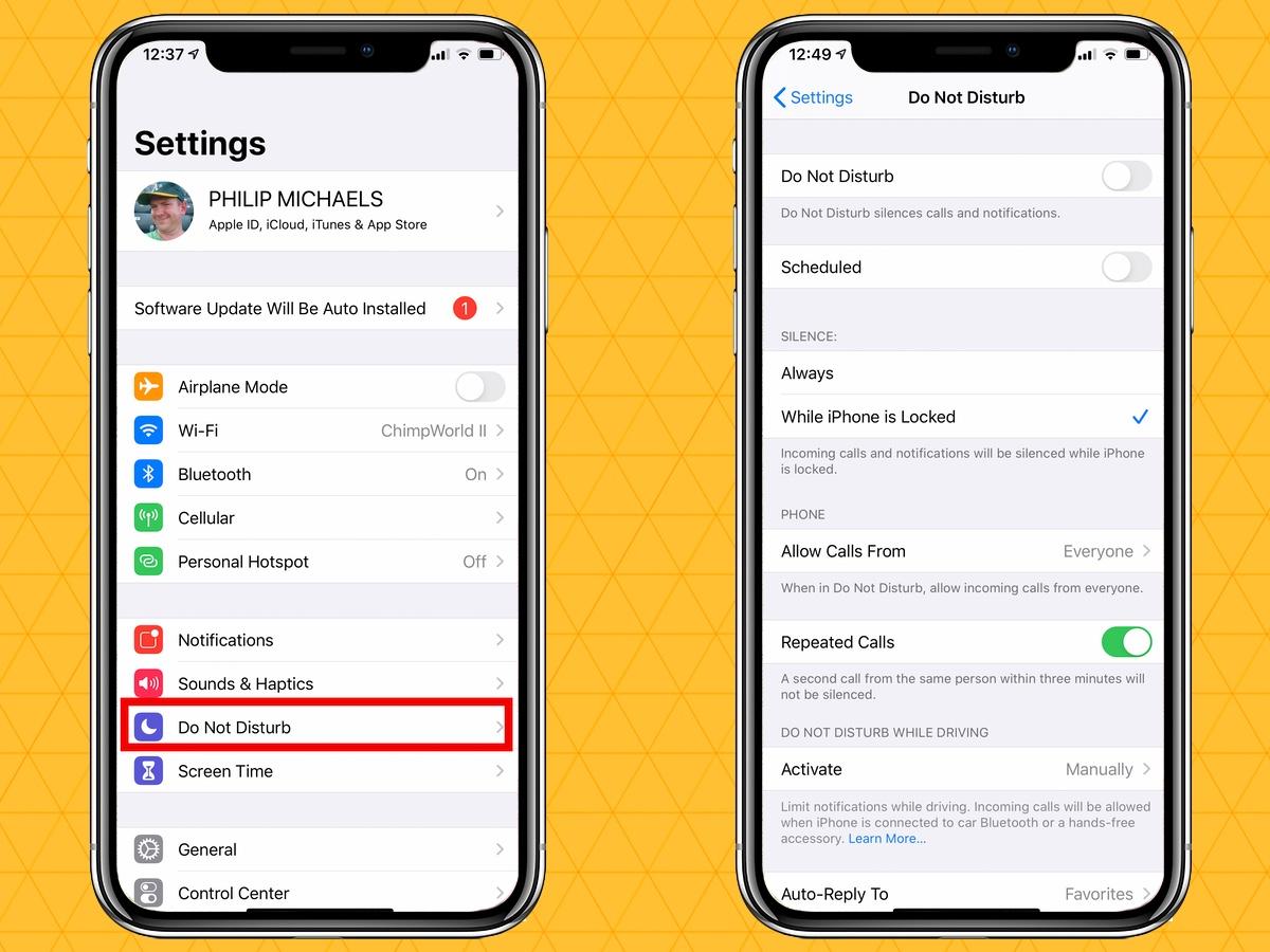 silenciar notificaciones en tu iPhone no molestar