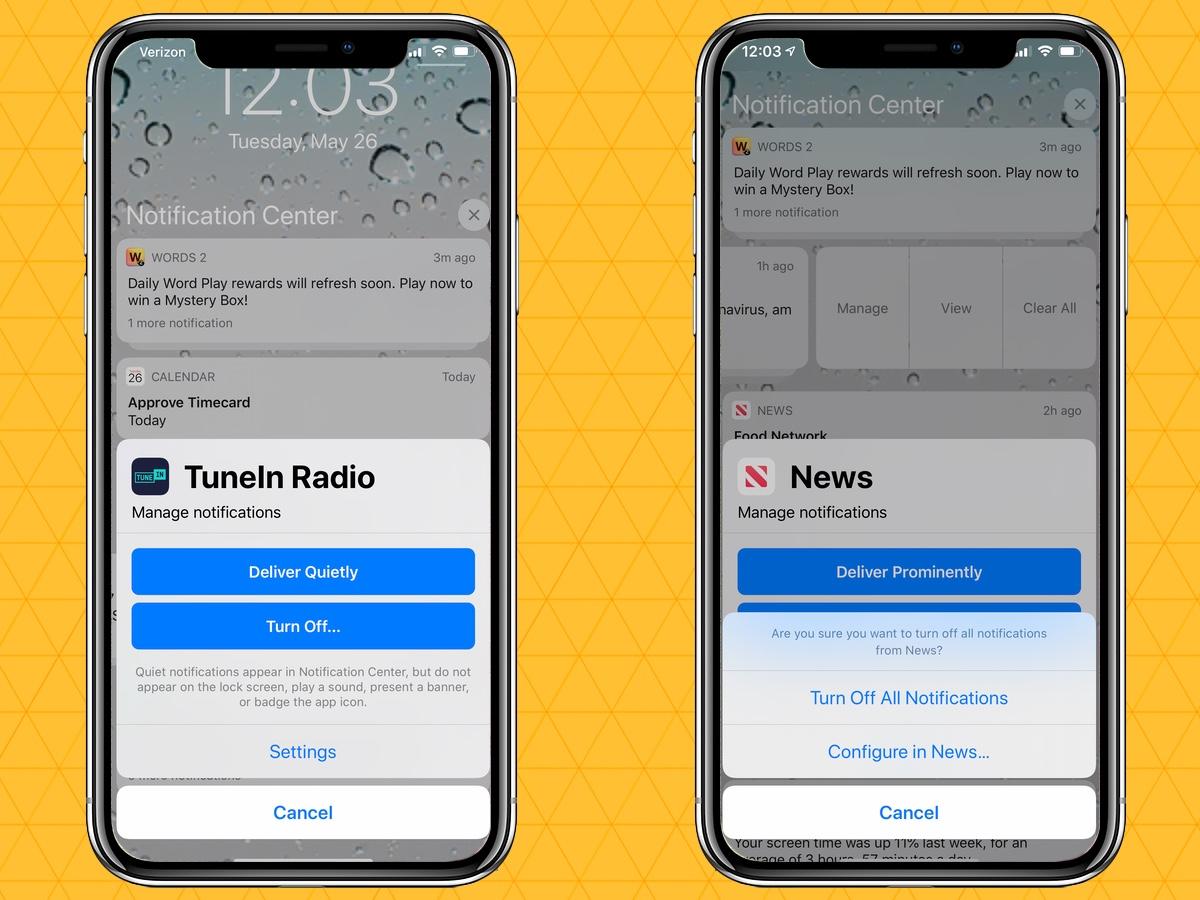 silenciar notificaciones en tu iphone administrar notificaciones
