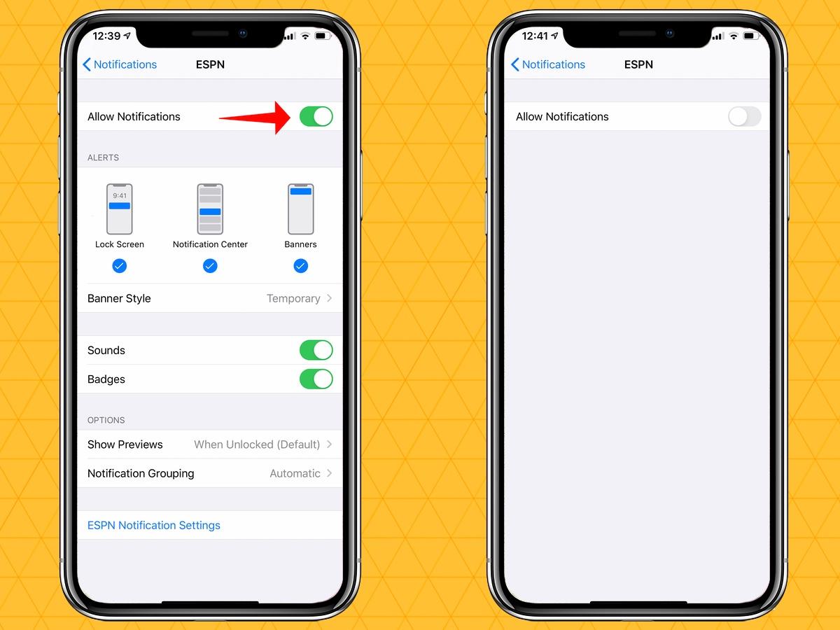 silenciar notificaciones en tu iphone apagándose