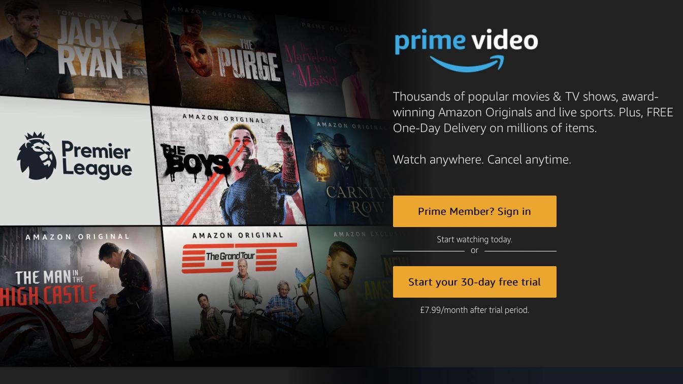 Cómo ver películas gratis en iPad y iPhone: Amazon Prime Video