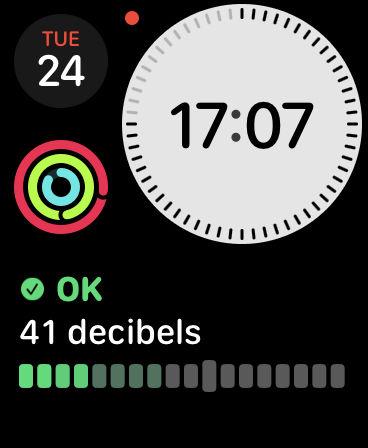 Cómo usar la aplicación Noise en Apple Watch: cara modular compacta