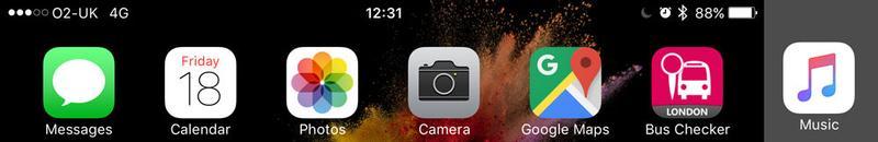 Cómo saber si el iPhone de alguien está en modo No molestar: icono de la luna