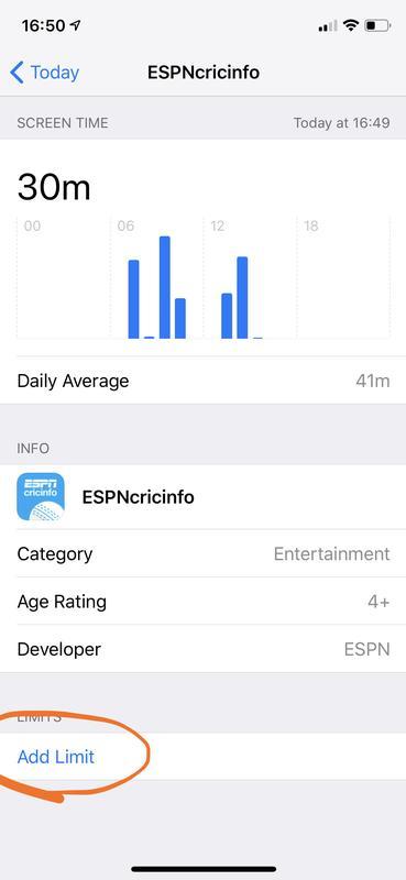 Cómo usar el tiempo de pantalla para limitar el uso de aplicaciones de iPhone y iPad: límite de aplicaciones