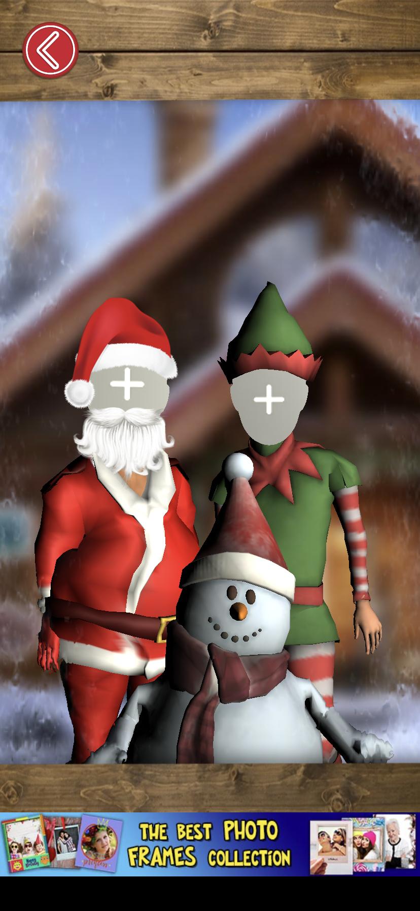 Aplicación de baile navideño