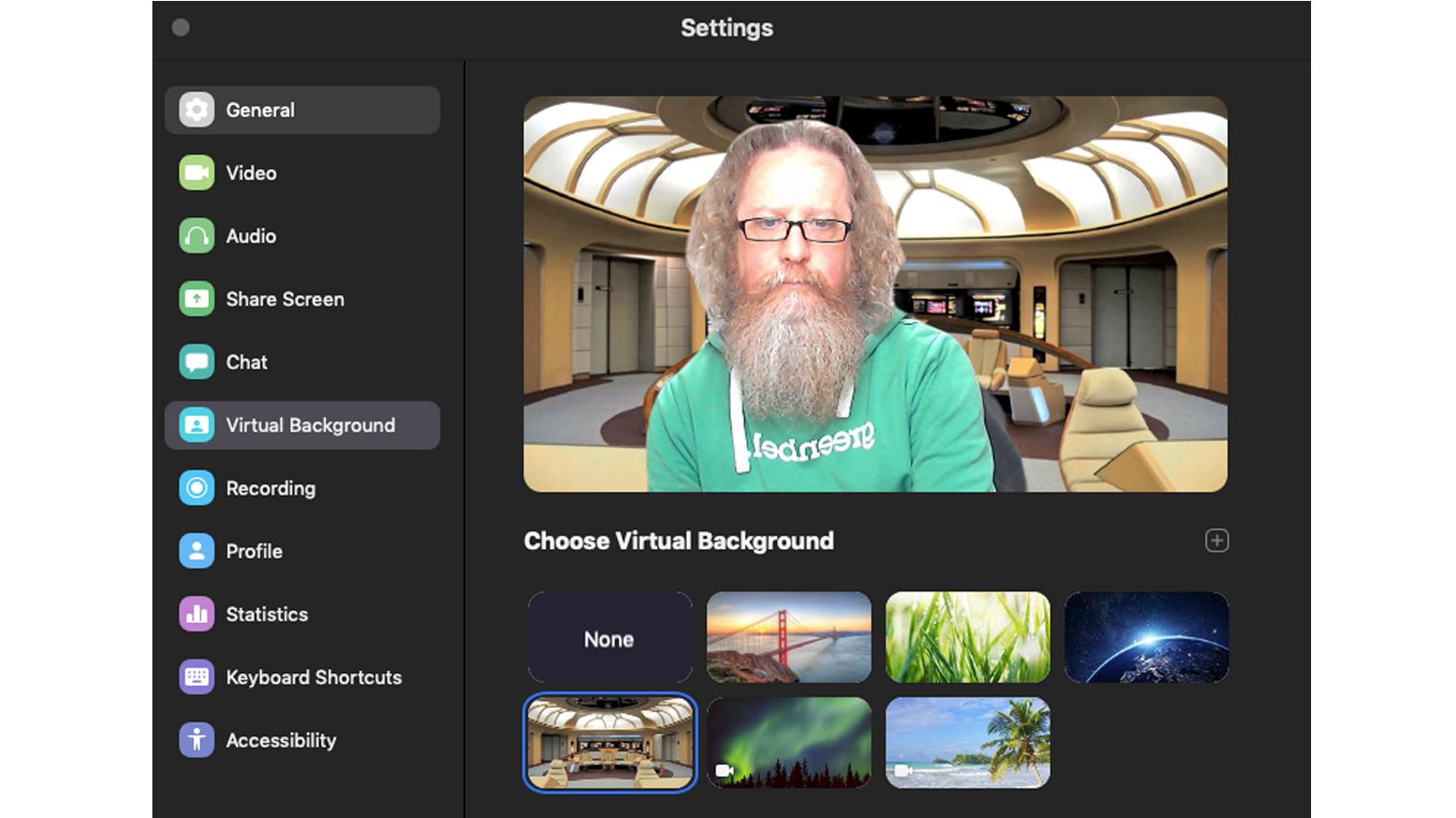 Cómo configurar y usar Zoom en Mac: fondos virtuales