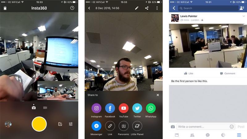 Cómo tomar fotos y videos de 360 grados en iPhone y iPad: Insta360
