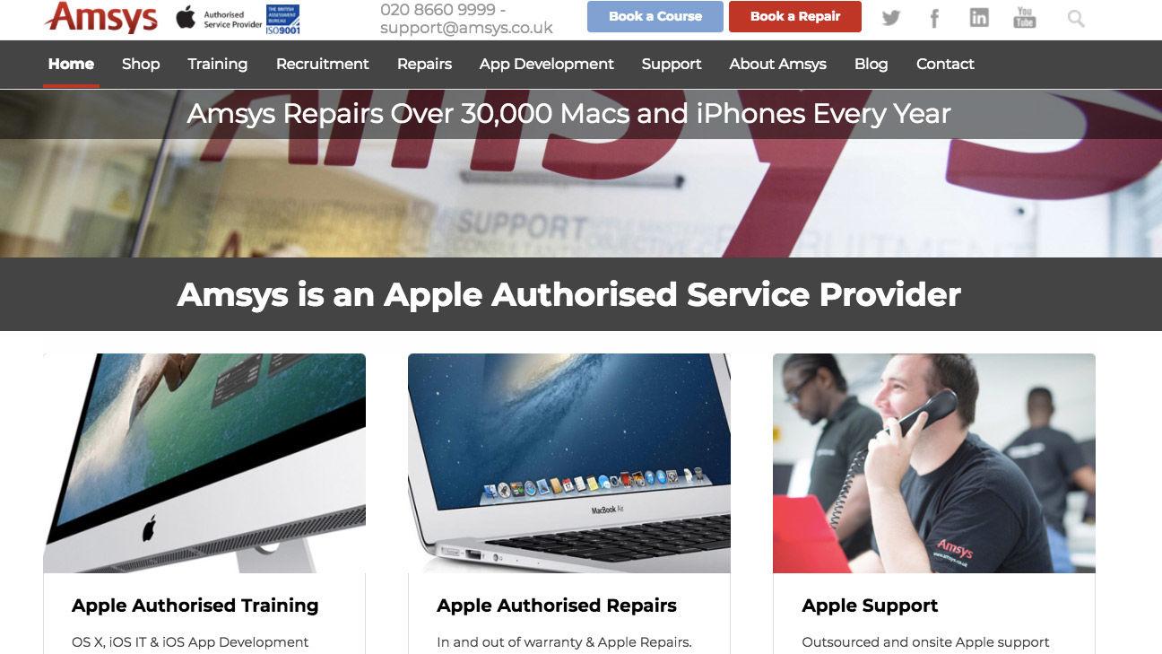 cómo reparar una mac