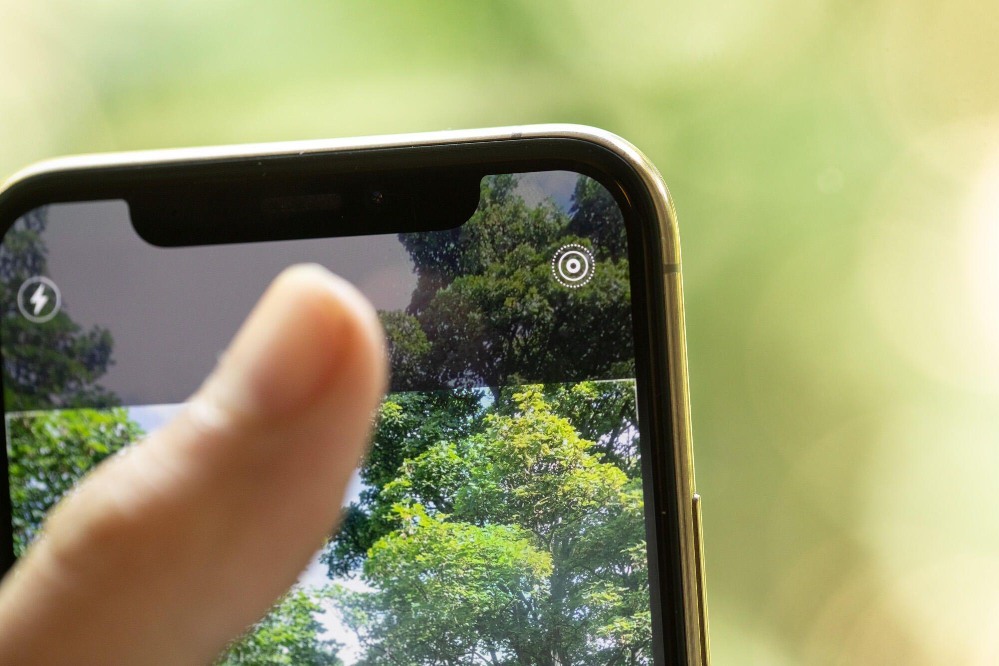 iphone de larga exposición