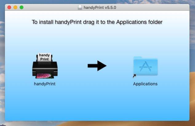 Cómo agregar AirPrint a una impresora que no sea AirPrint: Arrastre a Aplicaciones