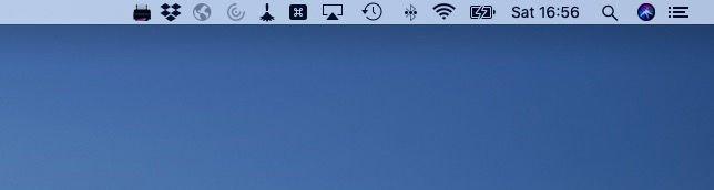 Cómo agregar AirPrint a una impresora que no sea AirPrint: barra de menú de Mac