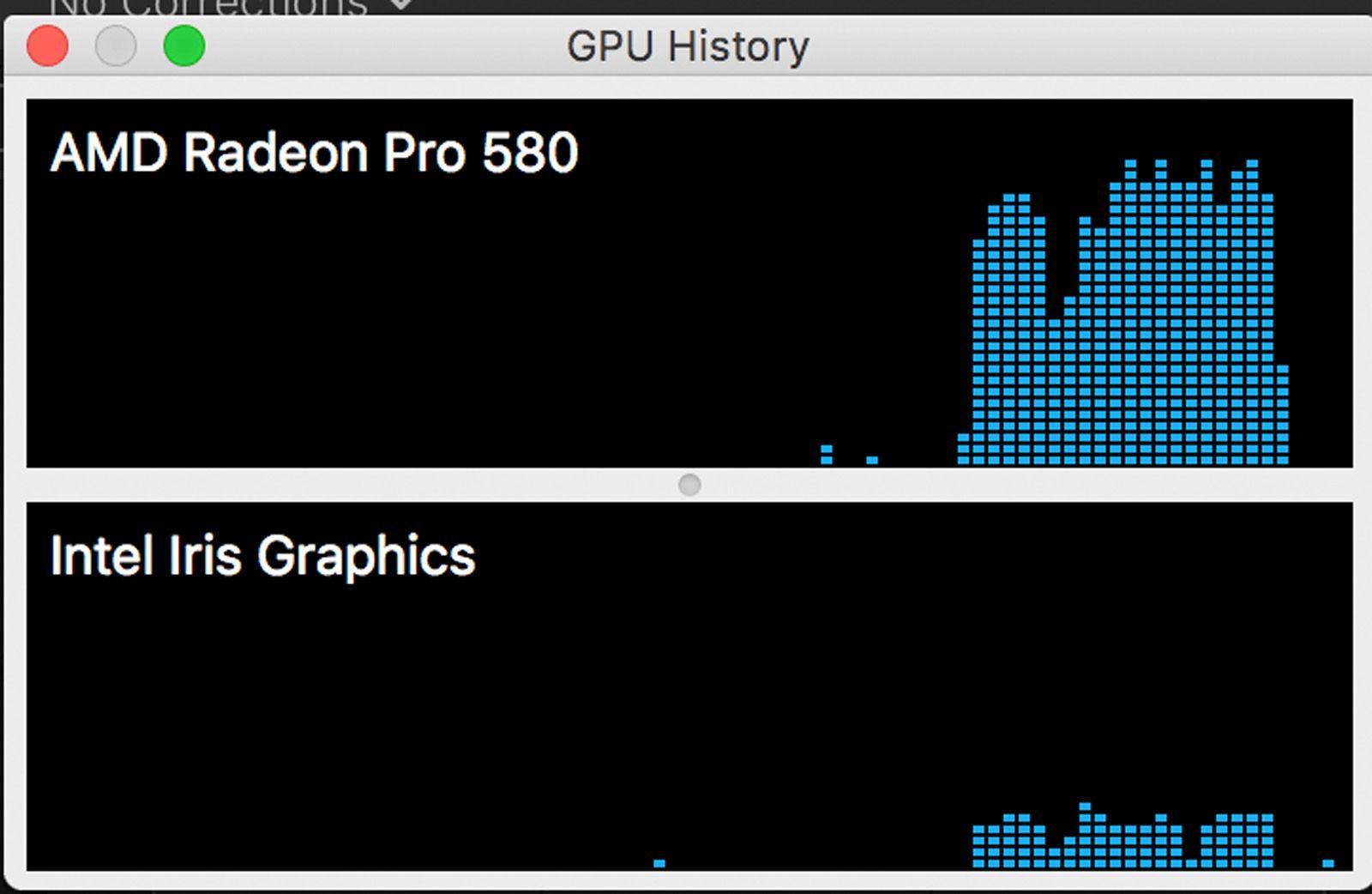 Información de GPU Mac