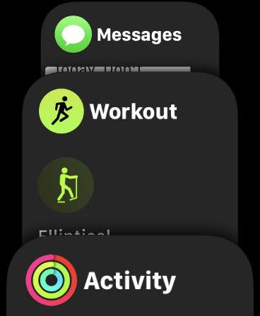 Cómo cambiar las aplicaciones en la base de Apple Watch: ¿Qué aplicaciones se muestran?