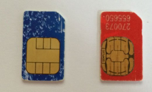 Cómo cortar una tarjeta SIM y hacer una nano-SIM para iPhone y iPad: marcas de guía de la tarjeta SIM