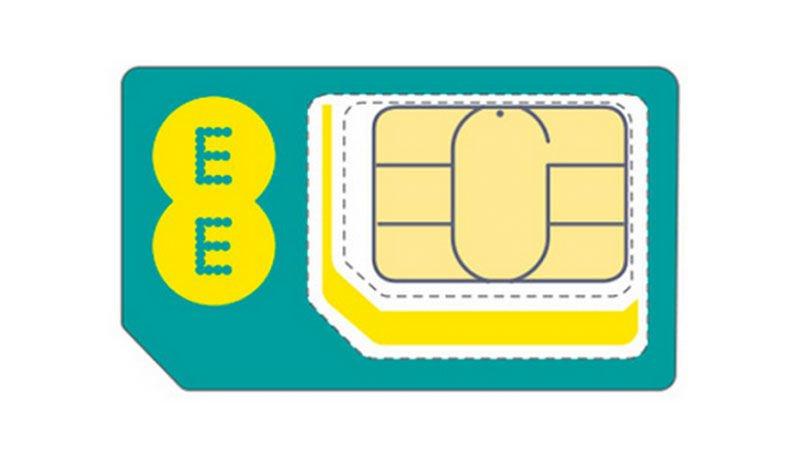Cómo cortar una tarjeta SIM y hacer una nano-SIM para iPhone: EE multi-SIM