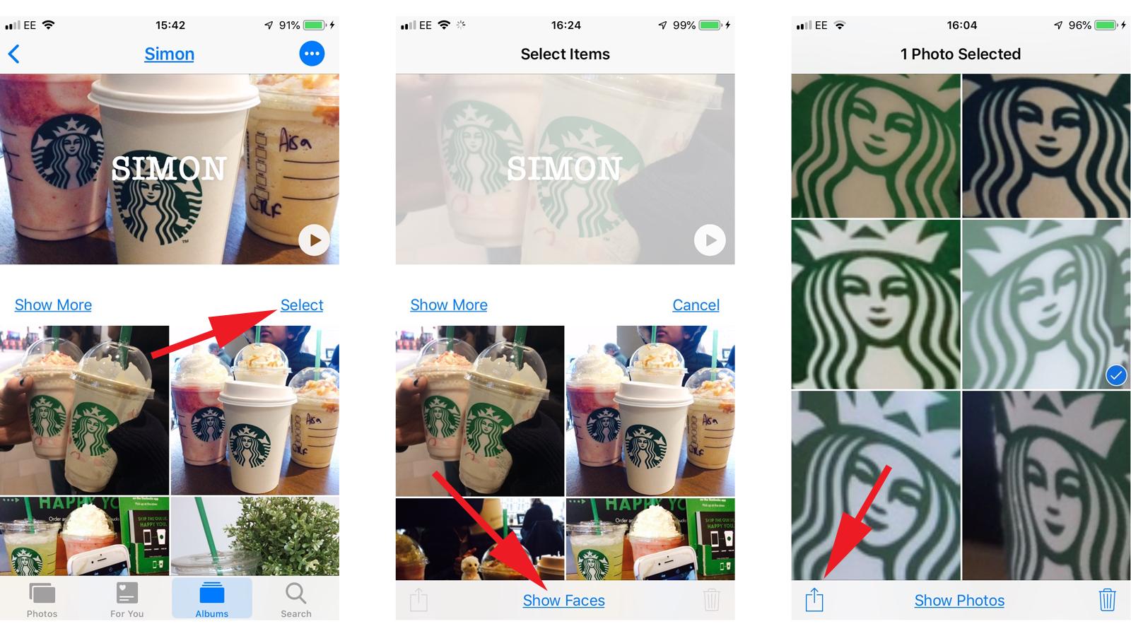 Cómo arreglar caras identificadas incorrectamente en fotos de iPhone: corregir una cara