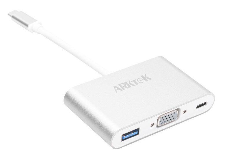 Adaptador Arktec USB-C a VGA