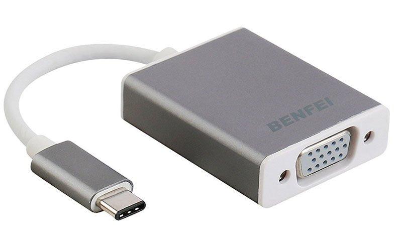 Adaptador Benfei USB-C a VGA