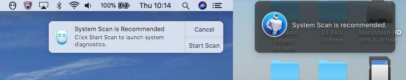 Cómo desinstalar MacKeeper en Mac: ventanas emergentes