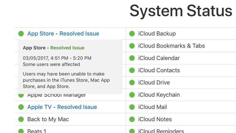 ¿Está caída la App Store? Problema resuelto