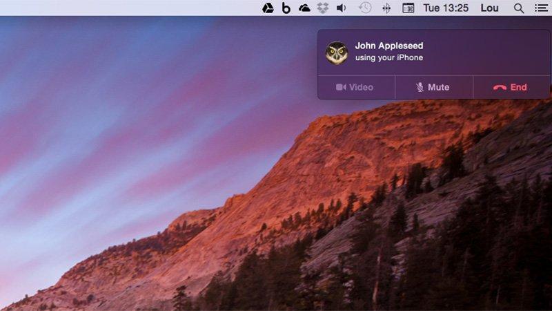 Hacer una llamada telefónica en Mac OS X