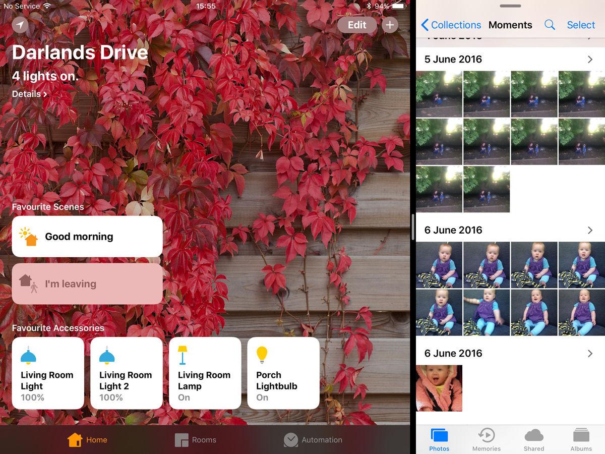Cómo usar la base para iPad en iOS 11